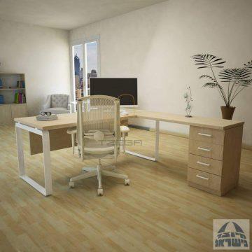 שולחן עבודה פינתי דגם RIO