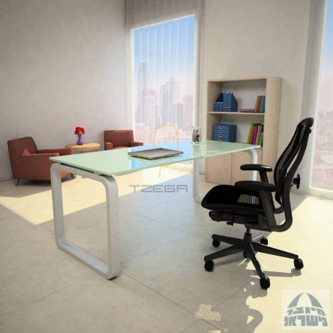 שולחן זכוכית דגם KESHET