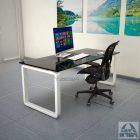 שולחן זכוכית דגם MONDO