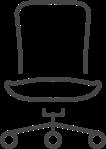 כסאות מזכירה