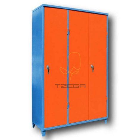 ארון מתכת 3 דלתות