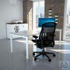 שולחן עבודה זכוכית דגם TOKO