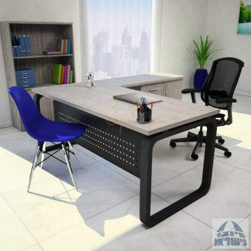 שולחן עבודה  פינתי דגם KESHET