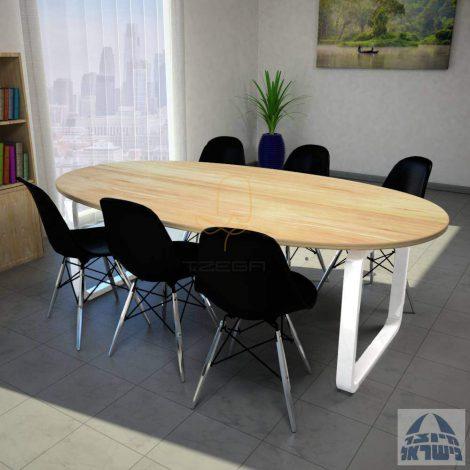 שולחן חדר ישיבות דגם KESHET