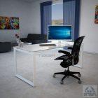 שולחן מחשב זכוכית דגם KENDEL