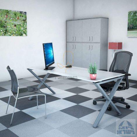 שולחן מחשב זכוכית דגם KYLIE